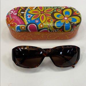 Brighton Crystal Voltage sunglasses & case